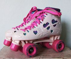 I had these pink roller skates in the 80's!