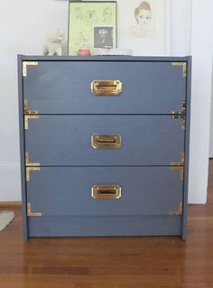 Another gorgeous Ikea rast campaign chest hack!