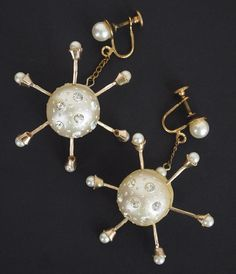 Atomic Sputnik Earrings