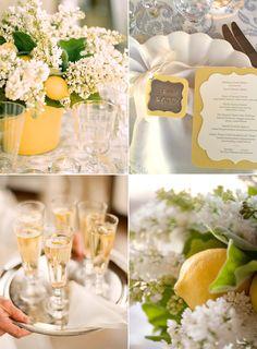 Yellow wedding.