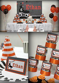 birthday parti, roller skate, boys roller skating party, parti theme, skate parti, birthday invitations, birthday idea, boy roller, parti idea