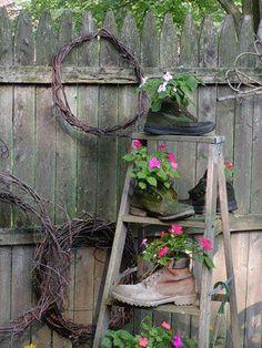 botas jardineras