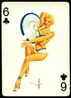 1950's Pin-up Playing Cards