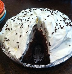 """Made this again last night.  If you are a chocolate lover, this pie is """"to die for.""""  Delicious!"""
