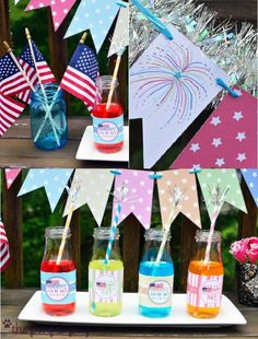 4th of July FREE and Funky Printables! from Bird's Party Blog