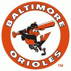Baltimore Orioles Logo (1966 - 1988)