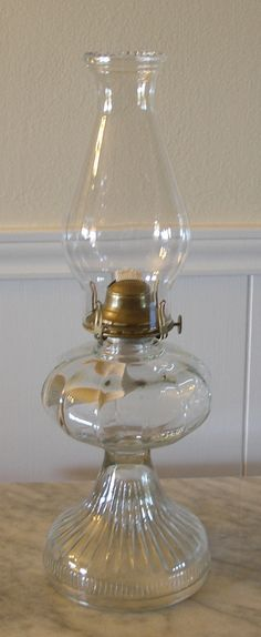 Kerosene Lamp. I'll have about 9,000 of these in my house.