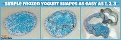 Simple Frozen Yogurt Shapes