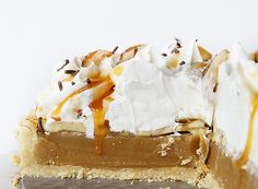 Banoffee Pie!  (SERIOUSLY decadent... you need to make this pie!)