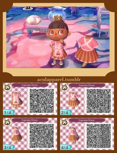 Cupcake dress QR code