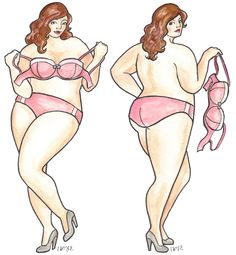 Plus Size Art: The Beauty of Every Woman- Curves Illustrated on The Curvy Fashionista