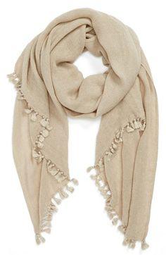 mini tassels scarf / nordstrom