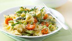 Pasta Primavera: Ready in 20 min. Total Cost: $4.22