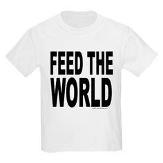 A Feed The World tee.