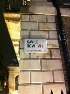 Everything Savile Row