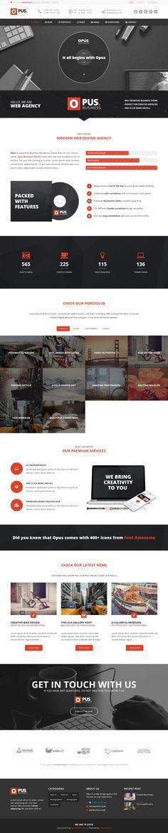 Creative Themes Awards #best templates