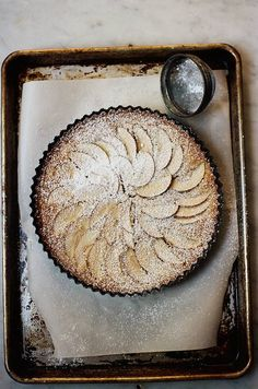 Apple and Frangipane