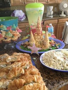 under the sea  theme food