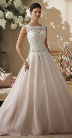 A timeless wedding gown very chic and elegant! Reminds me of Grace Kelly & Kate MIddleton