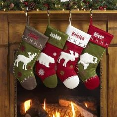 Personalized Rustic Hunting Stockings - Christmas Stockings:Amazon:Home & Kitchen