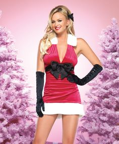 Holiday Harmony by Leg Avenue - Sexy santa costumes for the Christmas parties –   #christmas #santa #sexy #sexysanta #noel #xmas #party #whitechristmas #snow #fancydress #costume #fancydresscostume #sparklingstrawberry