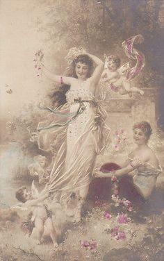9-8/4- Vintage Art Card- Fairy Tales - HANS ZATZKA - UNTITLED