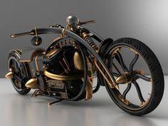 Steampunk Chopper