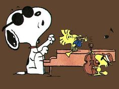 Snoopy and Woodstock in Concert