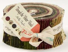 Through Winter Woods in stores now.  Holly Taylor @ModaFabrics