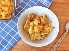 Roasted Cauliflower Gratin on TheShiksa.com #healthy #comfort #food #recipe