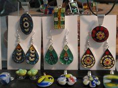 Mini Mosaic & Fused Glass Jewelry by Gila Mosaics