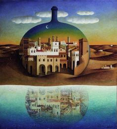 THE BLUE LANTERN: Imaginary Cities