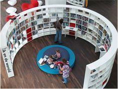 Public library in Amsterdam (OBA)