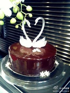 *Swan cake