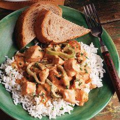 Slow Cooker Chicken Paprikash