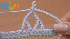 Crochet Two Upside Down Y Stitches Together Tutorial 25 Complex Crochet Stitch  https://www.youtube.com/watch?v=DgpHvxUEjYQ Learn how to crochet the upside down Y stitch and how to make two upside down Y stitches together. Following our video tutorial you will be able to make this complex stitch. Thanks so much for watching! Steel Crochet Hook size 2mm or 2.25mm (#4 or #2 US standards) and yarn: 55% Cotton, 45% Polyacrylic, 160m in 50g, 5 ply.