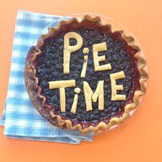 Learn how to create an edible message on your pie.