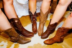 "Put your best ""boot"" forward! #WesternWedding #CountryWedding"