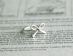 simple wire bow ring#Repin By:Pinterest++ for iPad#