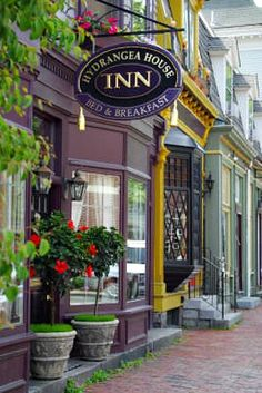 *Hydrangea House Inn - Newport, RI          #VisitRhodeIsland