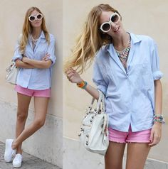 Candy colors #candycolors #fashion #streetstyle #moda #look #looks #style #roupas #clothes