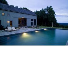 Barn Pool House