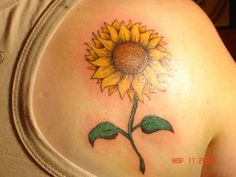 My mom loves sunflowers