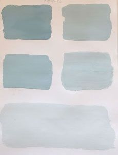 "My new favorite Annie Sloan chalk paint color ""Provence"""