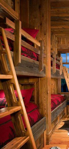 Rustic Bedroom Montana Creative