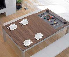 Convertible Billiards Table