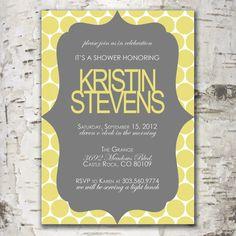 Custom Shower Invitation Digital Design from www.stewartdesignstudios.etsy.com