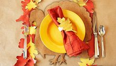 Fall Flair for a Kids' Table