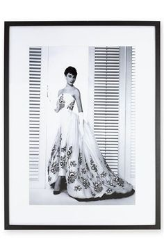 Framed Audrey Hepburn Image from Next