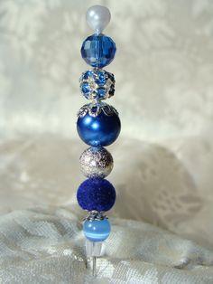 Blue Hat Stick Pin